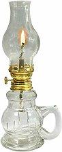 YFYW Glass Kerosene Oil Lamp,Vintage Antique Cole