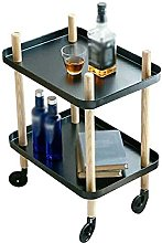 YGCBL Multifunctional Storage Trolley,Drinks