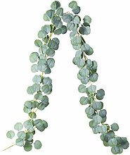 YGKJ 6.5 Feet Artificial Eucalyptus Garland, 147