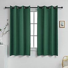 YGO Bedroom Short Curtains Nursery Room Darkening
