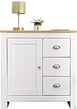 YH 1 Door & 3 Drawers Storage Cabinets Tables