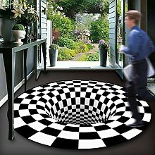 YHDP Stereo Visual 3D Area Rug,Optical Illusion