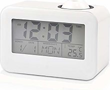 YHG Digital Projection Clock, LCD Display Alarm