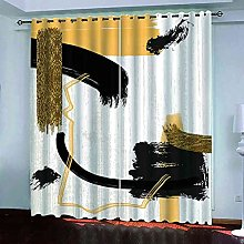 YHIZKD Curtains For Bedroom Creative Yellow
