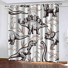 YHIZKD Curtains For Living Room - Abstract Animal