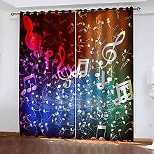 YHIZKD Curtains For Living Room - Creative Note