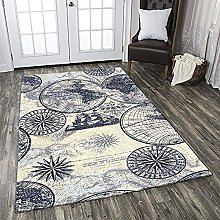YHML Map Rug/Large / 5ft x 8ft (60 inch x 96 inch)