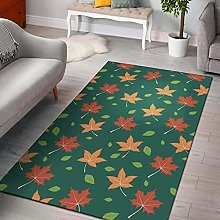YHML Maple Leaf Rug/Medium / 4ft x 6ft(48 inch x