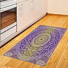 YHML Purple Mandala Rectangle Rug/Small / 3ft x