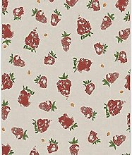 YHML Strawberries Red Rug/Small / 3ft x 5ft ( 36