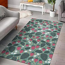 YHML Strawberry Rug/Small / 3ft x 5ft ( 36 inch x