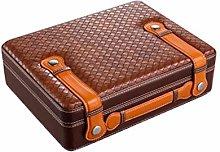 YHNJI Cigar Box, Cigar Humidor, Mellow Cedar Cigar
