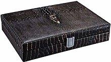 YHNJI Cigar Box, Cigar Humidor, Mellow Cedar Wood