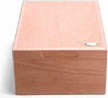 YHNJI Cigar Box, Natural Unpainted Mellow Cedar