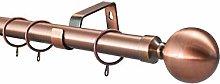 YHO 28mm Diameter Metal Curtain Pole Various