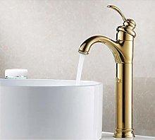 YHSGY Bathroom Sink Taps Single Hole Cold&Hot