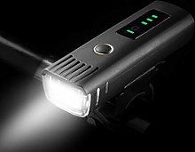 YHX Mountain bike lights, rechargeable bicycle