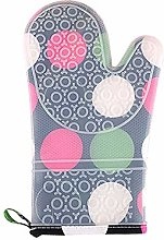 Yi Xuan 2 Pieces Heat Resistant Oven Gloves