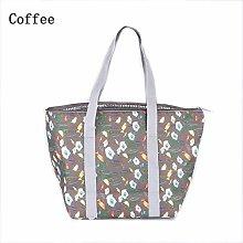 Yi Xuan Foldable Insulated Lunch Bag School Fresh