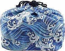 Yi Xuan Insulated Portable Lunch Bag Drawstring