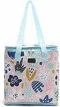 Yi Xuan Printed Waterproof Large Lunch Bag