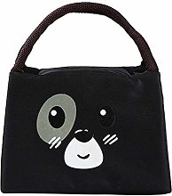 Yi Xuan Simple Style Portable Lunch Bag Cute Large