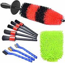 YIAI Detail Brush 10pcs/set Air Vent Soft Bristle