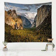 YIBINGLI Desktop Wallpaper Tapestry Scenic