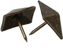 Yibuy 50pcs Upholstery Tack Decorative Nail