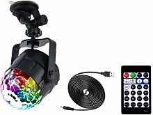 Yicare Disco Lights Ball with 15 Modes Stage