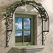 YICOL Garden Arch Iron Window Door Trim
