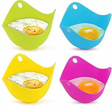 Yideng 4pcs Silicone Egg Poacher Cups Poach Pods