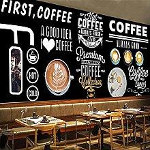 YIERLIFE Wall Mural 3D Wallpaper Blackboard Hand