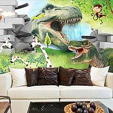 YIERLIFE Wall Mural 3D Wallpaper Cartoon Animal