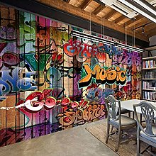 YIERLIFE Wall Mural 3D Wallpaper Colorful Stylish