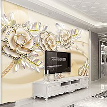 YIERLIFE Wall Mural 3D Wallpaper Fashion European