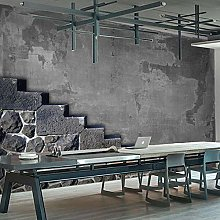 YIERLIFE Wall Mural 3D Wallpaper Industrial Style