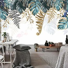 YIERLIFE Wall Mural 3D Wallpaper Vintage