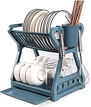 YIFEI2013-SHOP Dish Drainer Rack Double-layer