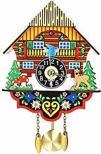 YIJIAHUI Wall Clock Vintage Home Bird Cuckoo