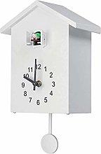 YIJIN Cuckoo Clock Cuckoo Wall Clock, Natural Bird