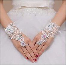 YILAHUAN wedding gloves Cheap Bridal Gloves Wrist