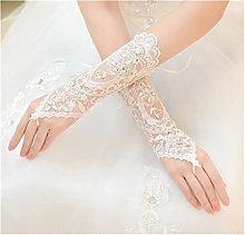 YILAHUAN wedding gloves Cheap In Stock White Ivory