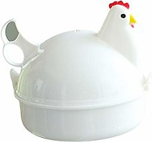 yimosecoxiang Egg Boiler Chicken Shape 4 Eggs
