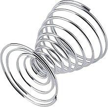 Yimosecoxiang Novelty 2Pcs Metal Spiral Spring