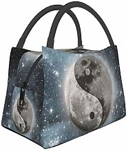 Yin Yang Landscape Insulated Lunch Bag, Reusable