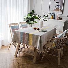Yinaa Oblong Modern Tablecloths Table Cloths