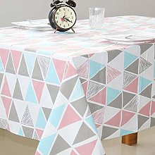 Yinaa Oblong Simple Style Patterned Table Cloths