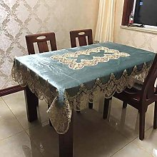 Yinaa Quality Rectangular Fabric Tablecloth Home