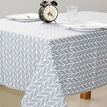 Yinaa Rectangular Oblong Table Cloths Cotton Linen